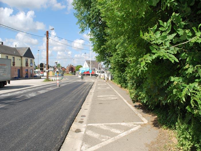 Gerpinnes : Rue du Bultia